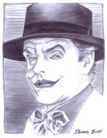 convention sketch 28 Joker by DennisBudd