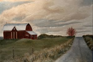 Country Evening by Frank-Jaspers