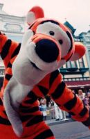 Tigger in DisneyLand Parade by annlo13