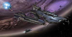 CONCEPT: Space Station by Ancorgil