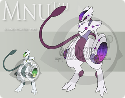 Fake Pokemon - Mnu Tau by Prinny-Dood