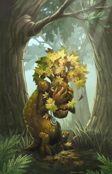 WoW - crying tree of life by Okha