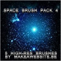 Space Brush Pack 4 by Rizl4