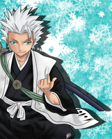 Toshiro, wallpaper part 2 by SilverDrawing88