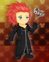 Axel Chibi by LordessSkadi