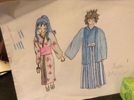 Too shy to speak (Gruvia) by Zabi13