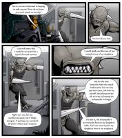 Unwelcome Emissary Page 13 by CarpeChaos