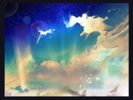 Clouds and Light by Sentient-Phyton