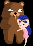 pedobear cuddle by haileyoddson