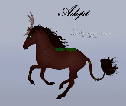 REDUCED |Themed Horse Adopt #1 [OPEN] by Schlangenfrost