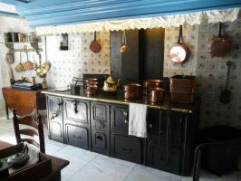 Old Timey Kitchen by IdunaHaya-Stock