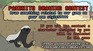 Panchito Drawing Contest by PinodromStudios