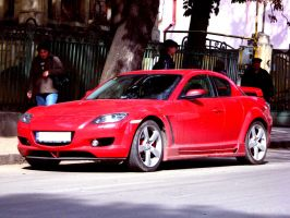 Spotted RX8 by AxelSilverwolf