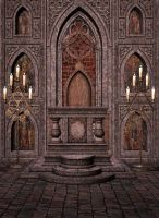 High Altar Free Background by zememz