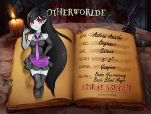 Otherworlde: Application for Astrae Asinthe