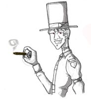 Big Hat, Cigar by wesker991
