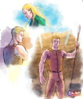 Elf sketches by P-JoArt
