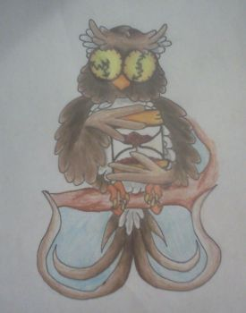 time owl by AnythingButThat