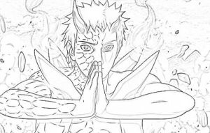 Obito Sketch by legiondale