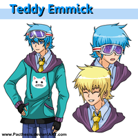 Teddy character sheet by Pacthesis