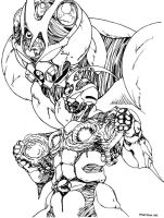 Bio Booster Armor Guyver. by Paladin01