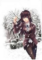 Paint it White__Kiseki-Winter by ivette-t