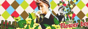 [ PSD ] Cover ZM Sehun - Flower boy by himayeollie