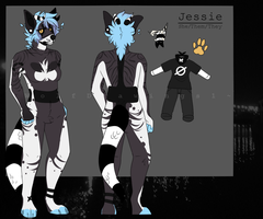 :Jess Ref: by WolfDrawings1