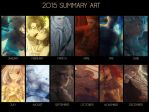 2015 Art Summary by Br0ps
