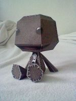 Sack boy papercraft by Digi-Elf