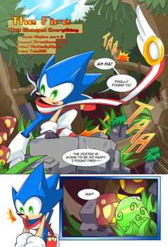 [Fanmade] Sonic Skyline Chapter 2 Page 1 by Tale3211