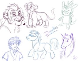 Doodles by Miss-Melis