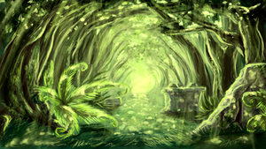 Environment Concept - Forest by Penumbra-Ex