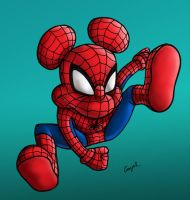 SpiderMouse by Esdras78