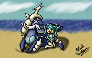 Leviticus and Reshia by Pikachu-And-Umbreon