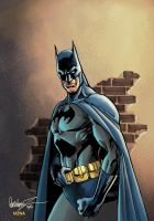 Batman by Garcia Lopez by JavierMena