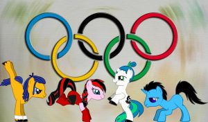 Olympic ponies XD by stasiabv