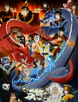 Avatar: The Last Airbender by KumoriDragon