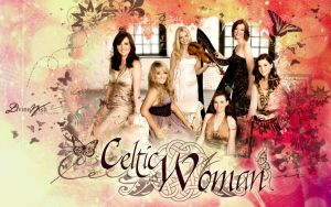 Celtic Woman - Butterflies by DivineWish
