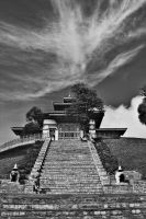 Temple in the Sky by ernieleo