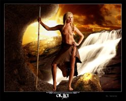 Ayla- Clan of the Cave Bear by Ssingularity