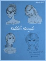 Delilah Devonshire + hairdos by gucci84