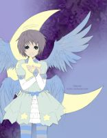 LAJ - Moonlit Star Angel by CassidyPeterson