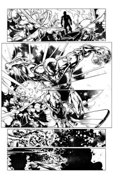 Silver Surfer page 1 by JamesWhynotInks