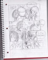 Just a Wall Scene Part 1 (comic practice) by pallaza