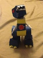 Lilformers- grimlock g2 colors papercraft by Lilscotty