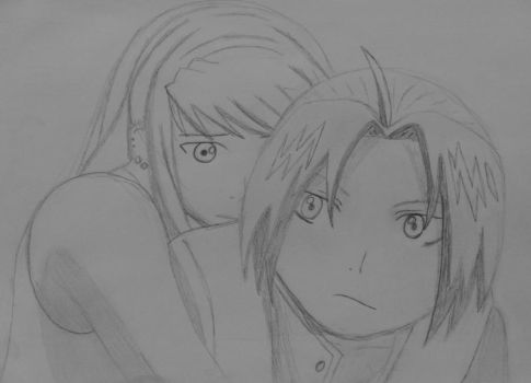 Ed and Winry by RMGart