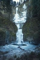 Multinomah Falls by KBLNoodles