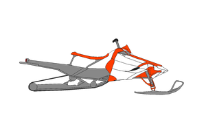 Snowmobile design by aerox21