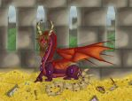 The Dragon's Hoard by LadyArmageddon